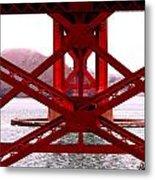 Beneath The Golden Gate Metal Print