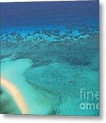 Beneath The Sea Great Barrier Reef Australia Metal Print