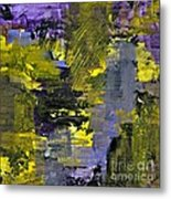 Beneficial Bees 2 Of 2 Metal Print