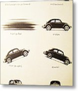 Benefits Of A Volkwagen Metal Print by Georgia Fowler