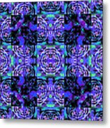 Bengal Tiger Abstract 20130205m80 Metal Print