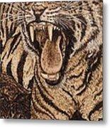 Bengal Tiger Metal Print by Vera White