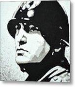 Benito Mussolini Metal Print