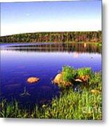 Benjies Lake Cape Breton Island Metal Print