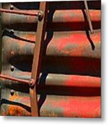 Bent Out Of Shape Metal Print
