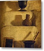 Bent's Old Fort Kitchen Fireplace Metal Print
