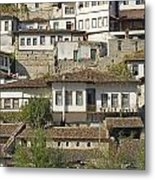Berat Old Town In Albania Metal Print