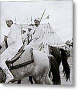 Berber Horsemen Metal Print