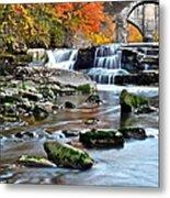 Berea Falls Ohio Metal Print