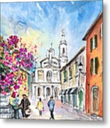 Bergamo Lower Town 01 Metal Print
