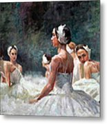 Berlin Dancers Metal Print