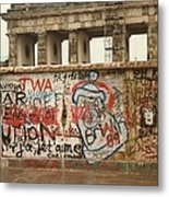 Berlin Wall Metal Print