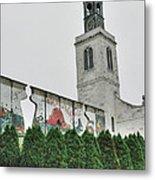 Berlin Wall Segment Metal Print