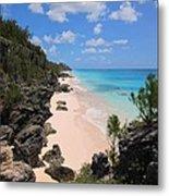 Bermuda Cliffside Metal Print