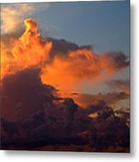 Bermuda Clouds Metal Print