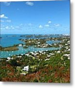 Bermuda From Gibbs Hill Lighthouse Metal Print