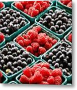 Berry Berry Nice Metal Print by Peter Tellone