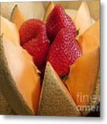 Berry Bowl Metal Print