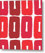 Berry Boxes- Contemporary Abstract Art Metal Print