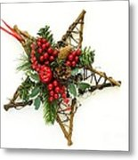 Berry Star Metal Print