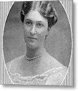 Bertha Krupp  Daughter Of Friedrich Metal Print