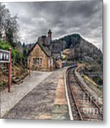 Berwyn Railway Station Metal Print