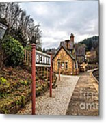 Berwyn Station Metal Print