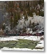 Beside The Animas River Metal Print