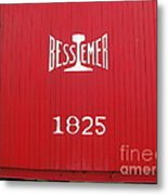 Bessemer Train Metal Print