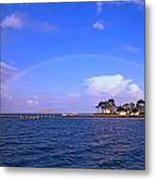 Best Complete Rainbow Over Santa Rosa Sound2 Metal Print