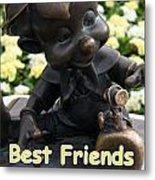 Best Friends Metal Print
