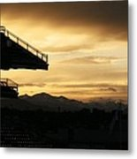 Best View Of All - Rockies Stadium Metal Print