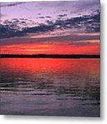 Bethany Beach Sunset Metal Print