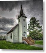 Bethany Prairie Church Metal Print