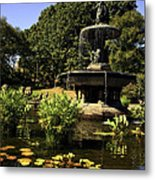 Bethesda Fountain - Central Park 2 Metal Print