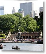 Bethesda Terrace And Fountian Nyc Metal Print