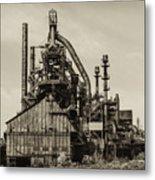 Bethlehem Pa Steel Plant   Metal Print