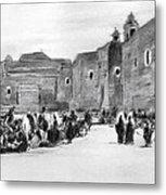 Bethlehem Painting 1928 Metal Print by Munir Alawi