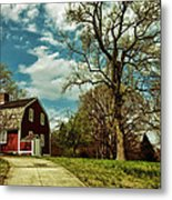 Betsy William's House Metal Print