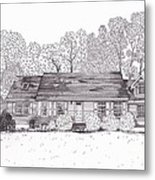 Betsy's House Metal Print by Michelle Welles