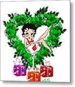 Betty Boop 3 Metal Print
