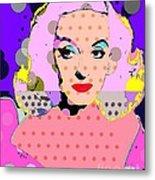 Betty Davis Metal Print by Ricky Sencion