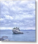 Between A Rock And A Busted Flip Flop Metal Print