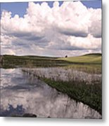 Between Storms Metal Print