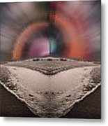Between Two Suns Metal Print
