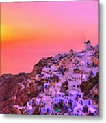 Bewitched Sunset Metal Print