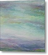Beyond The Distant Hills Metal Print