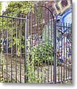Beyond The Gate Metal Print by Jason Politte