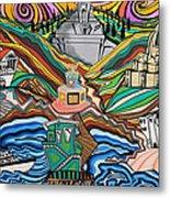 Beyond The Sea Metal Print by Carlos Martinez