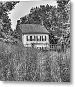 Beyond The Wheat Farm Metal Print